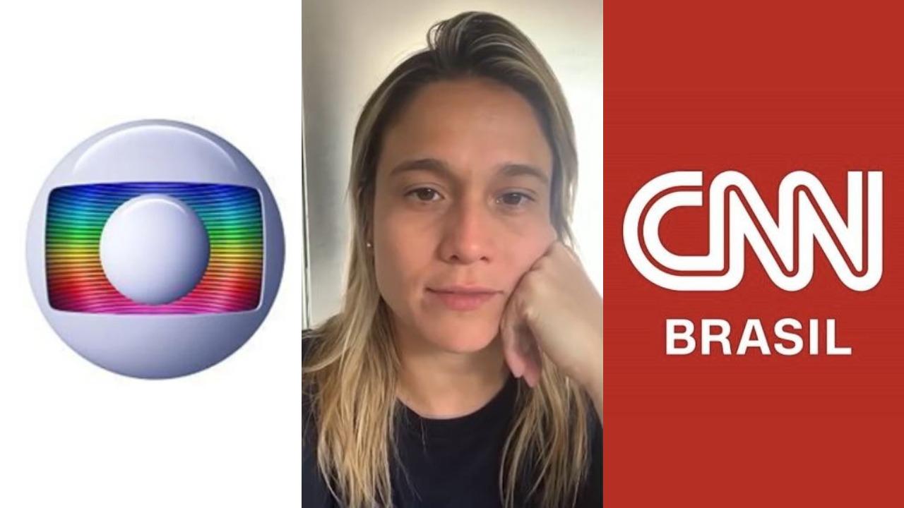 Fernanda Gentil pode ser contratada por outra emissora (Foto: Reprodução/Globo/SNN Brasil)