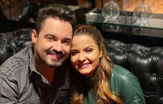 Fernando Zor e Maiara, da dupla com Maraísa (Foto: Reprodução/Instagram)