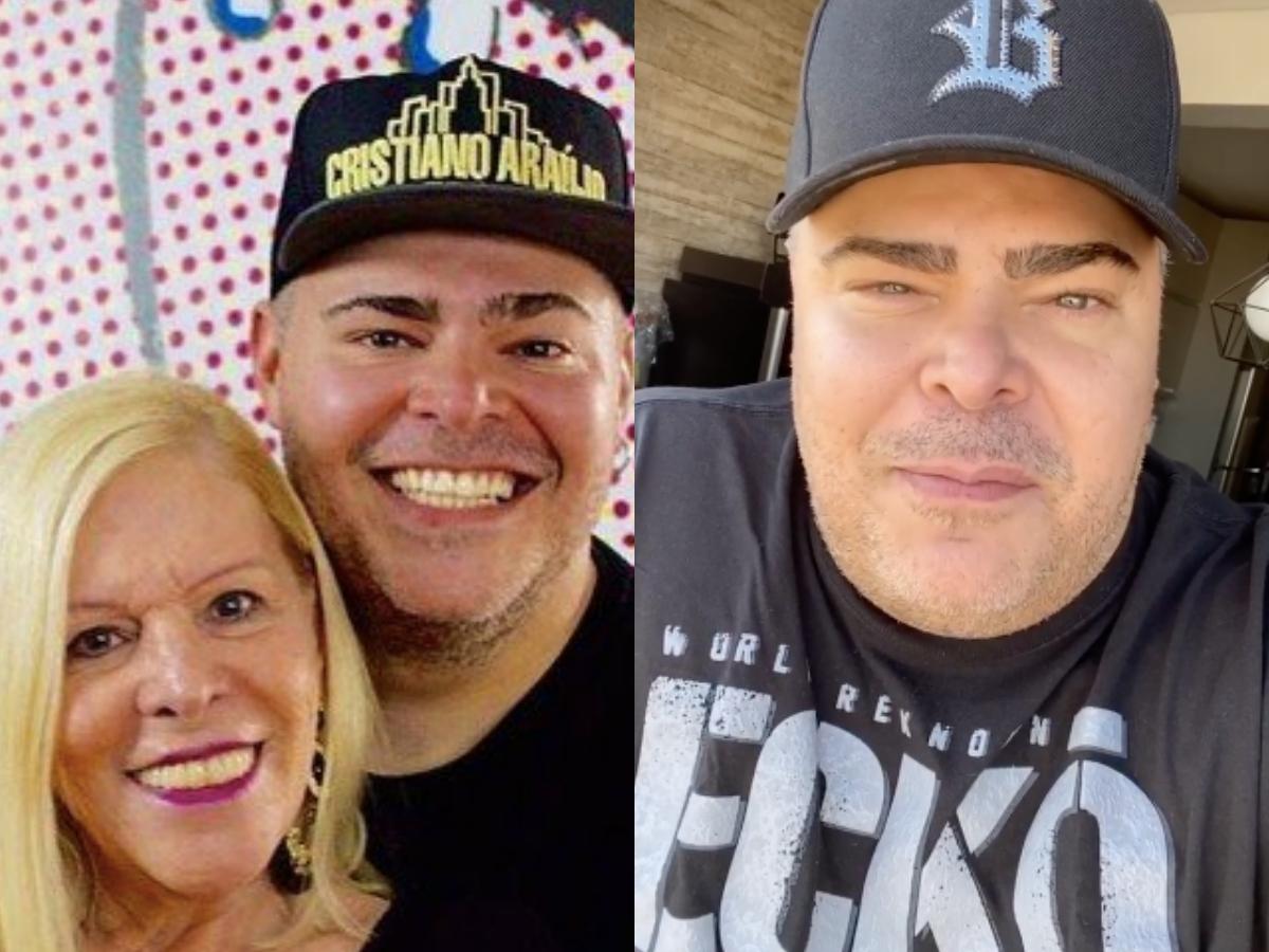 O filho da famosa cantora e artista, Vanusa, Rafael deixou os internautas preocupados após revelar o real estado de saúde de sua mãe (Foto: reprodução/Montagem TV Foco)