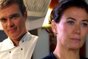 Em Fina Estampa, René e Griselda não terminarão a novela juntos (Montagem: TV Foco)