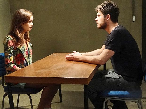 Rafael dirá para Amália se afastar dele na novela das nove (Imagem: Globo)