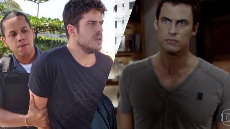 Rafael decide se entregar para a polícia em Fina Estampa e deixa Juan desolado com a traição (Montagem: TV Foco)