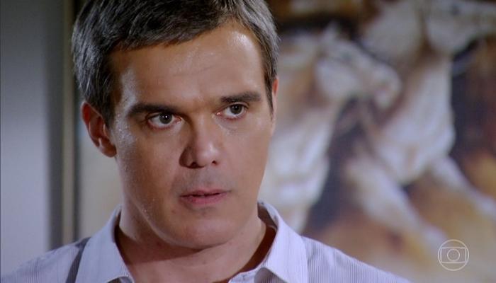 René (Dalton Vigh) em Fina Estampa (Foto: Reprodução/Globo)