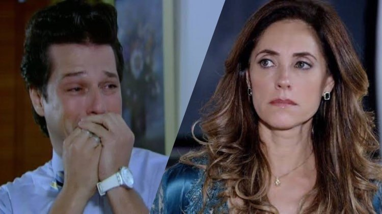 Vila de Fina Estampa mata amante secreto de Crô (Montagem: TV Foco)