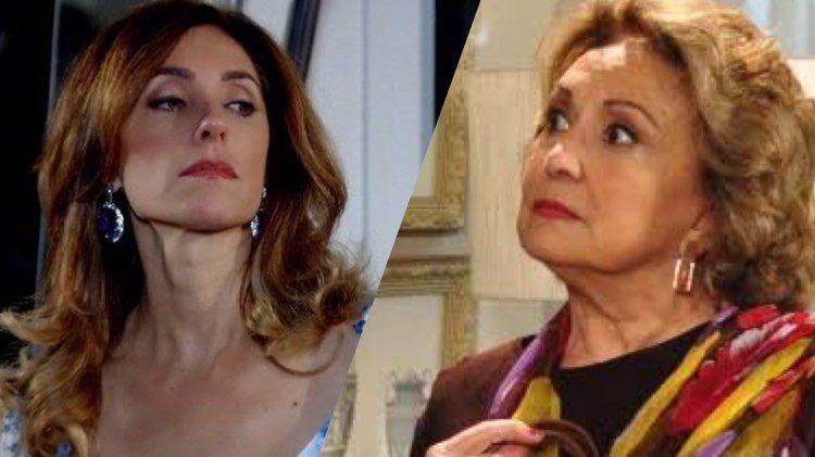Fina Estampa promete um final daqueles para Tia Íris depois que revelar o segredo de Tereza Cristina (Montagem: TV Foco)