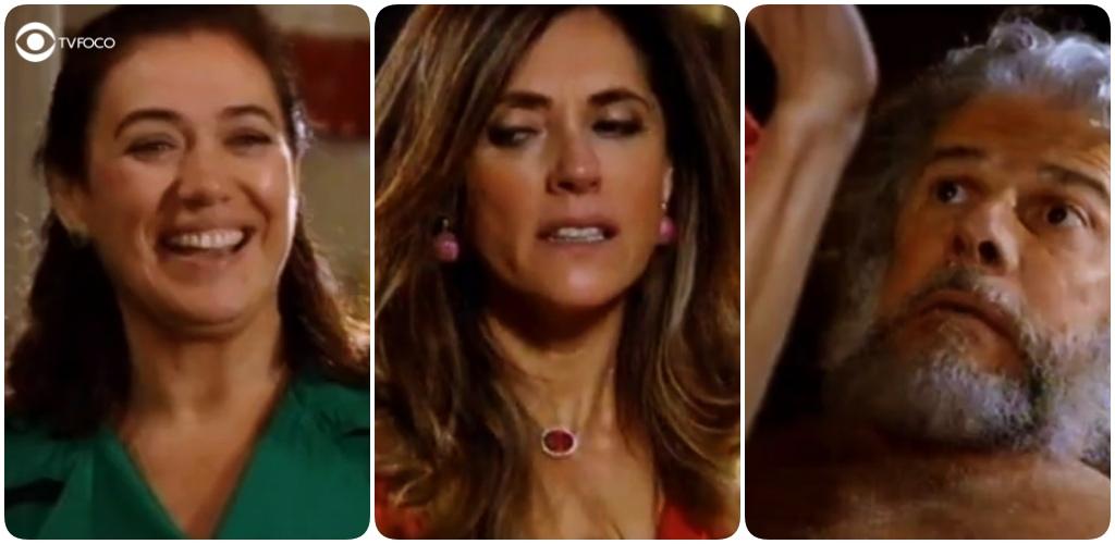 Tereza Cristina fica constrangida ao ser pega por Griselda em Fina Estampa