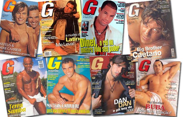 """Algumas capas da """"G"""" que fizeram sucesso nas bancas (Imagem: Divulgação)"""