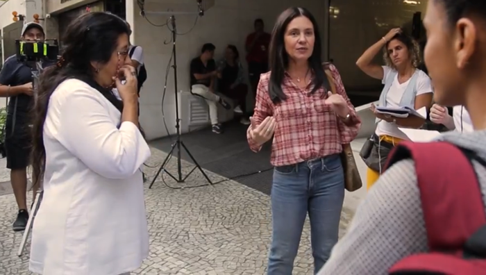 Bastidores da novela Amor de Mãe; Globo promoverá demissões em projeto de unificação e funcionários serão dispensados (Foto: Reprodução/Globo)