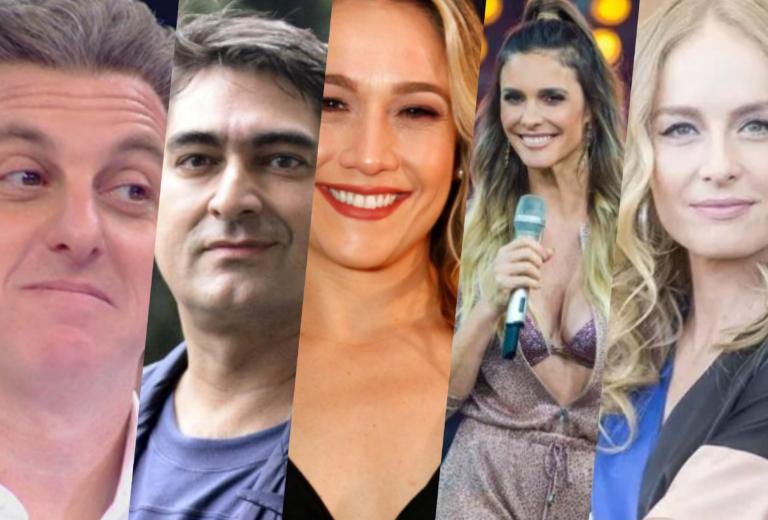 Globo define lista bombástica com demissões de apresentadores (Foto montagem: TV Foco)