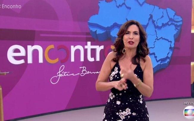 Fátima Bernardes voltou com tudo no Encontro - Foto: Reprodução