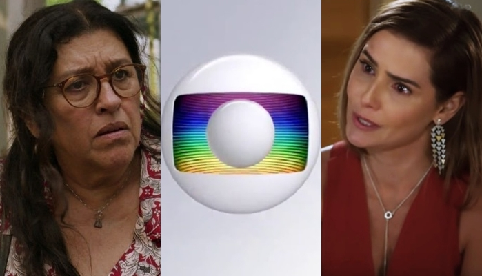Regina Casé em Amor de Mãe e Deborah Secco em Salve-se Quem Puder; novelas da Globo voltarão ao ar retalhadas (Foto: Reprodução/Globo)