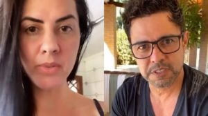 Graciele Lacerda foi cobrada por seguidores sobre polêmica de Zezé (Foto: reprodução)