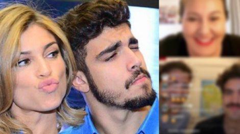 Caio Castro foi surpreendido com uma pergunta de Grazi Massafera (Foto: montagem TV Foco)