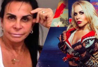 """Gretchen detona Joelma durante live: """"Não é humilde"""" (Montagem: TV Foco)"""