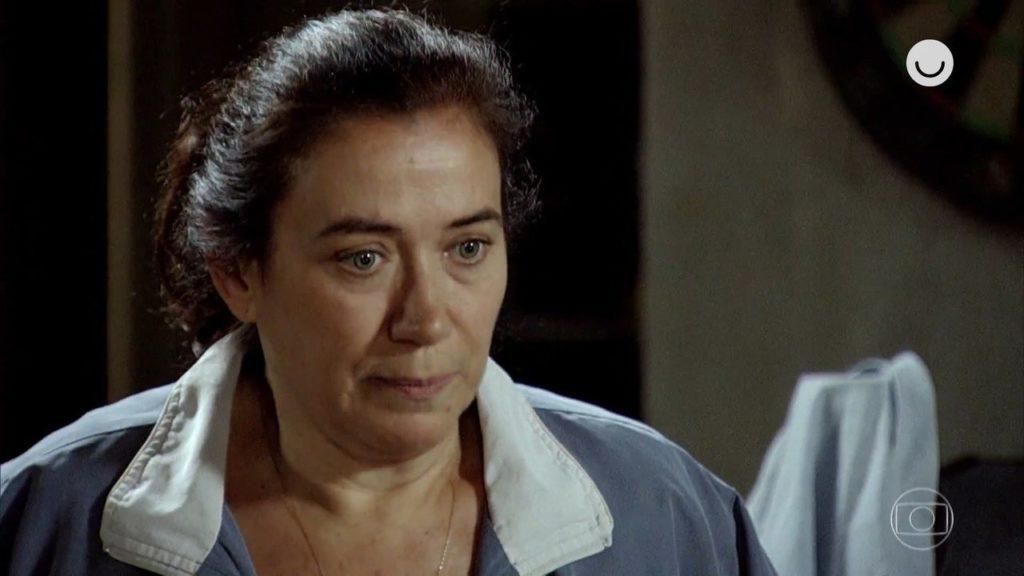 Griselda em cena da novela Fina Estampa