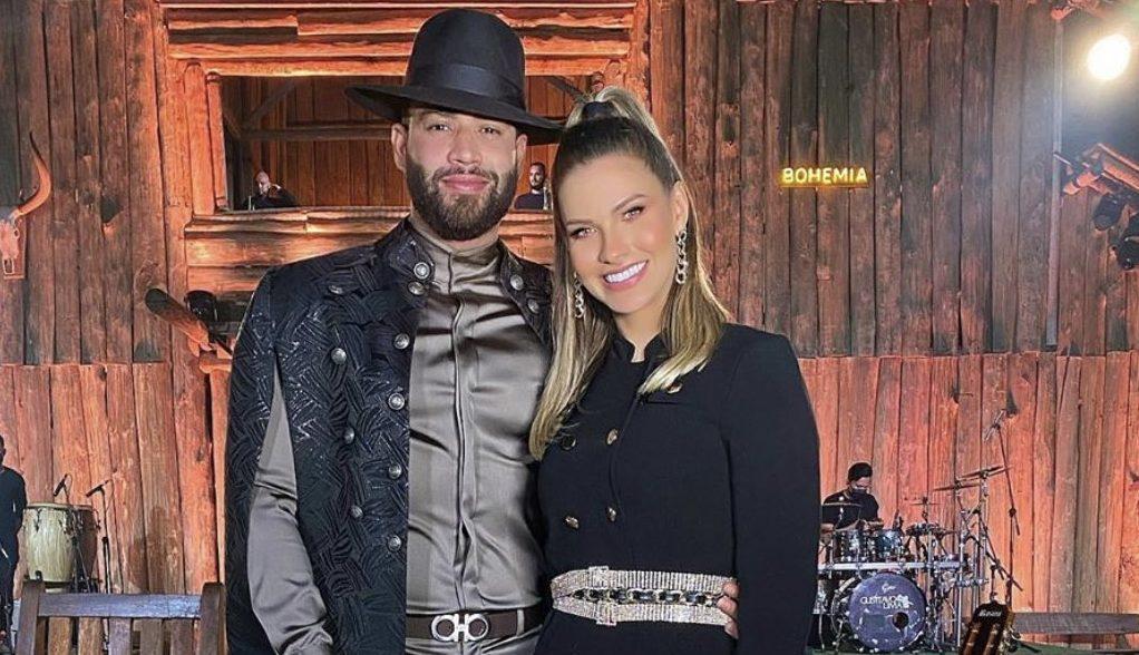 Gusttavo Lima anunciou que quer mais um filho com Andressa Suita (Foto: Reprodução)