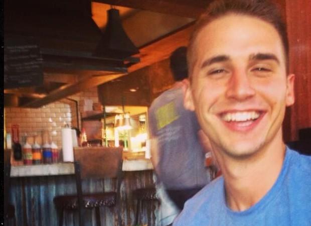 Hagen Mills, aor de 29 anos, comete suicídio após tentar matar mulher (Foto: Reprodução)