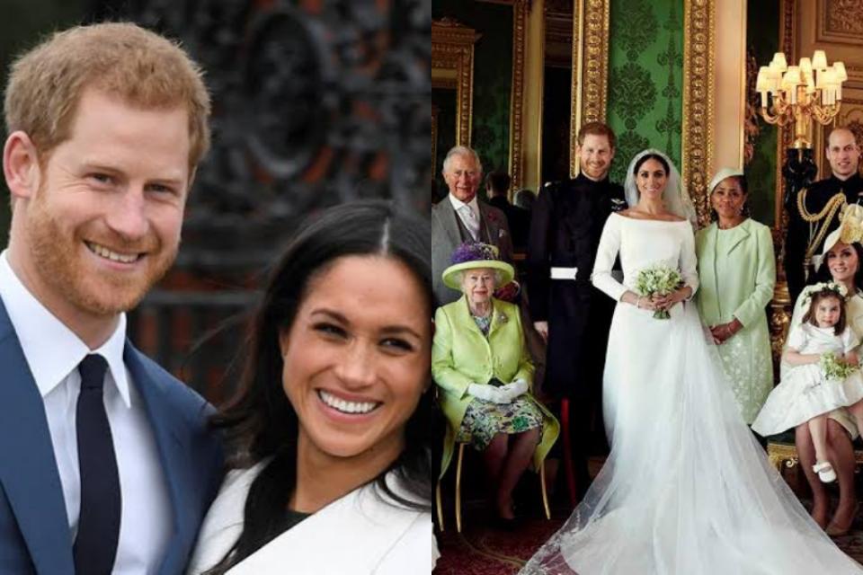 Em aniversário de casamento, Harry e Meghan não recebem mensagem da Família Real e ira é exposta (Foto: Reprodução)