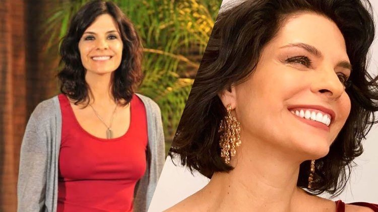 Helena Ranaldi está de volta à Globo na reprise de Fina Estampa (Montagem: TV Foco)
