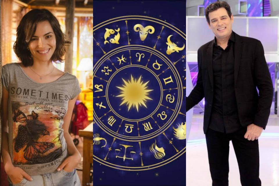 A segunda-feira (01) de junho é marcada pelo aniversário do apresentador Celso Portiolli e da atriz Tainá Müller. Ambos são do signo de Gêmeos (Foto: Reprodução