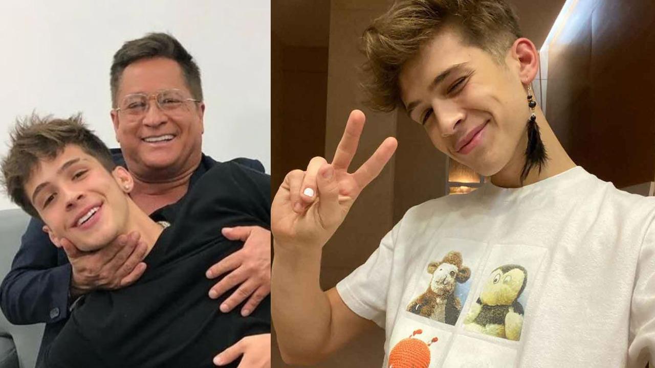 João Guilherme é o filho caçula de Leonardo (Foto: Reprodução/Instagram)