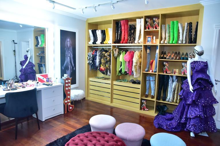 Closet da Joelma (Foto: AgNews)