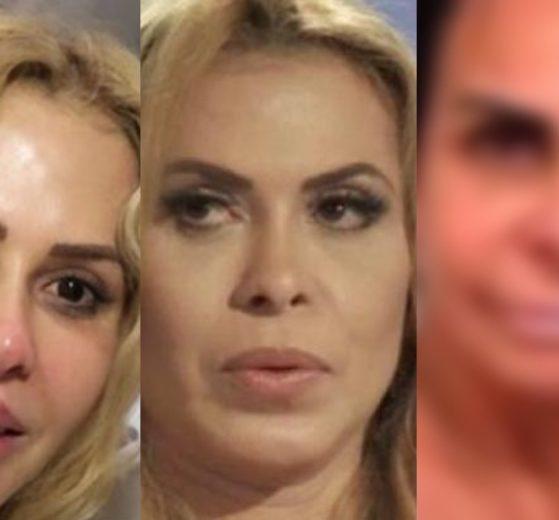 Joelma é detonada por cantora durante live (Foto: montagem TV Foco)