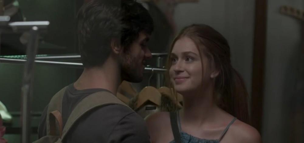 Eliza e Jonatas em Totalmente Demais (Foto: Divulgação)