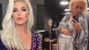 Katy Perry mostra barrigão de oito meses em cliques raros (Foto: Reprodução)