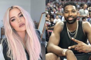 Khloé Kardashian compartilha foto e recebe reação do ex, Tristan Thompsom (Foto: Reprodução)