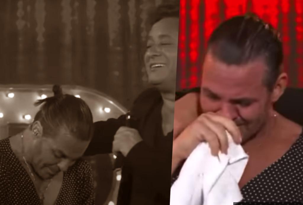 Eduardo Costa e Leonardo choraram ao vivo (Foto montagem: TV Foco)