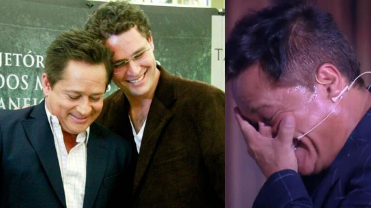 Leonardo e Pedro Leonardo (Foto: Reprodução/TV Globo)