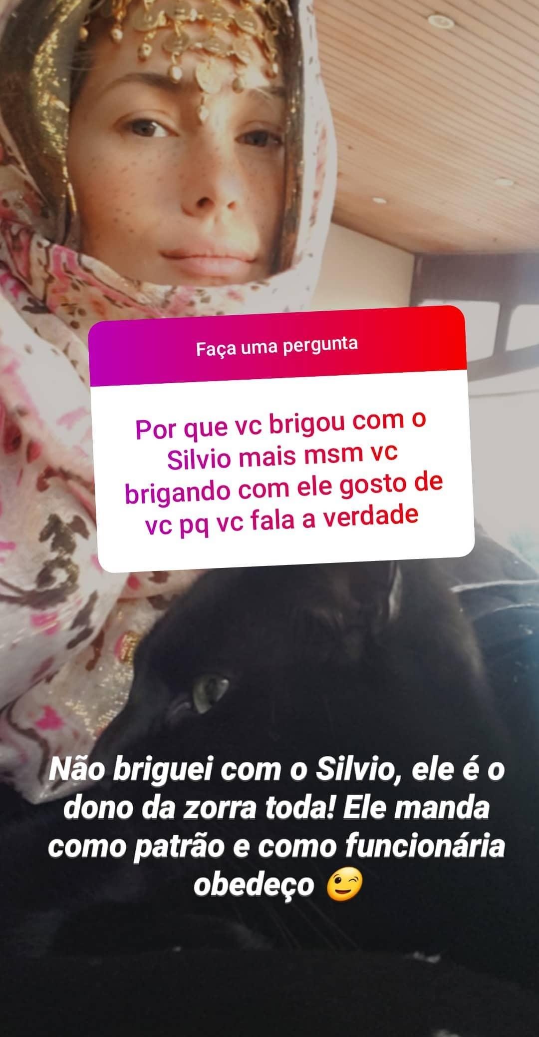 Lívia Andrade respondeu os fãs (Foto: Reprodução/Instagram)