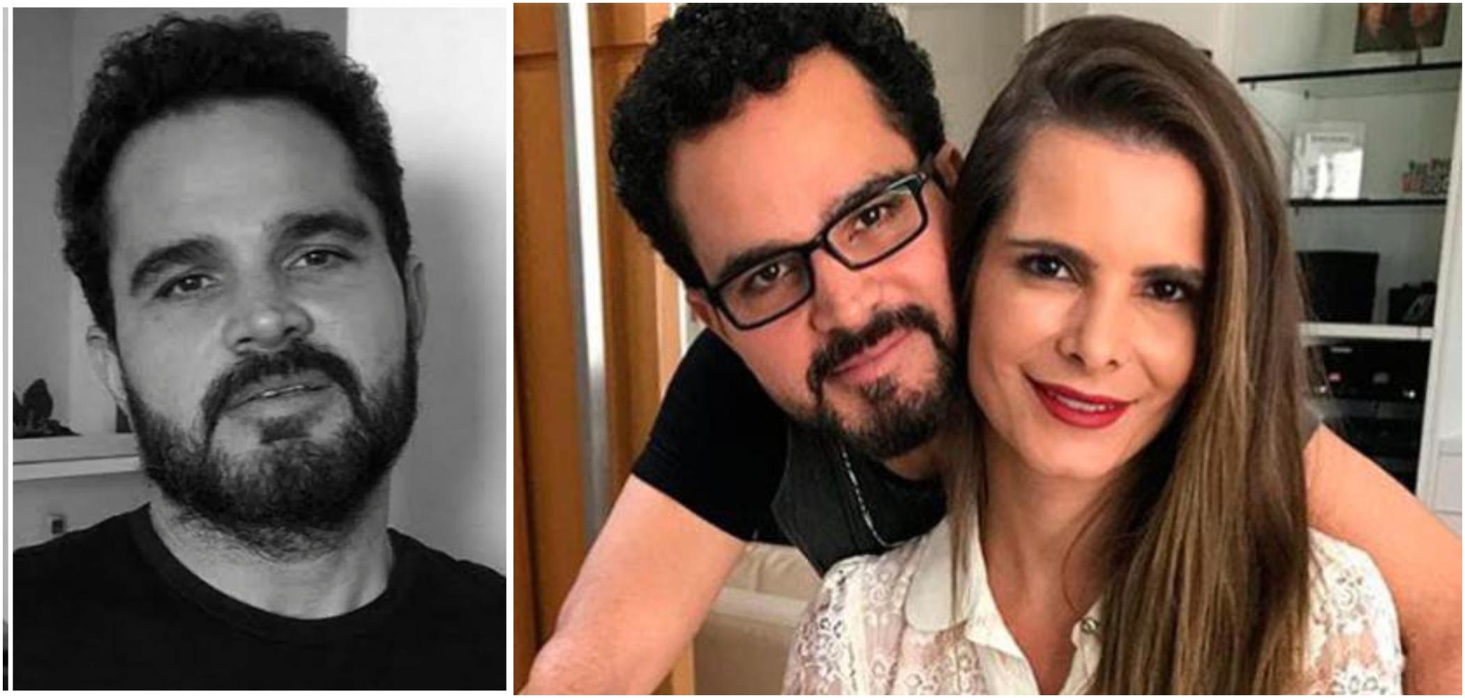 Luciano Camargo disse ser cavalheiro e romântico com a esposa, Flávia Camargo (Reprodução)