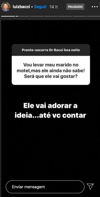 Luiz Bacci (Foto: Reprodução/Instagram)