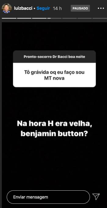 O famoso apresentador da Record, Luiz Bacci falou sobre sexo (Foto: Reprodução/Instagram)