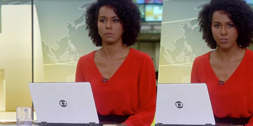 Maju Coutinho deu notícia bombástica, ao vivo sobre Bolsonaro na Globo (Foto montagem)