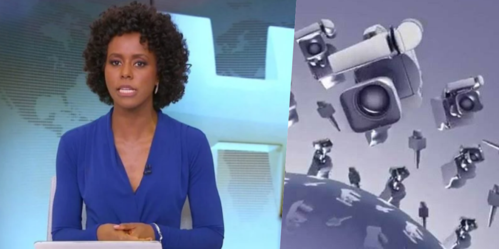 Maju Coutinho entrou ao vivo para dar notícia bombástica aos Brasileiros (Foto montagem)