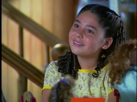 A atriz em 'Chocolate com Pimenta' (Foto: reprodução/Globo)