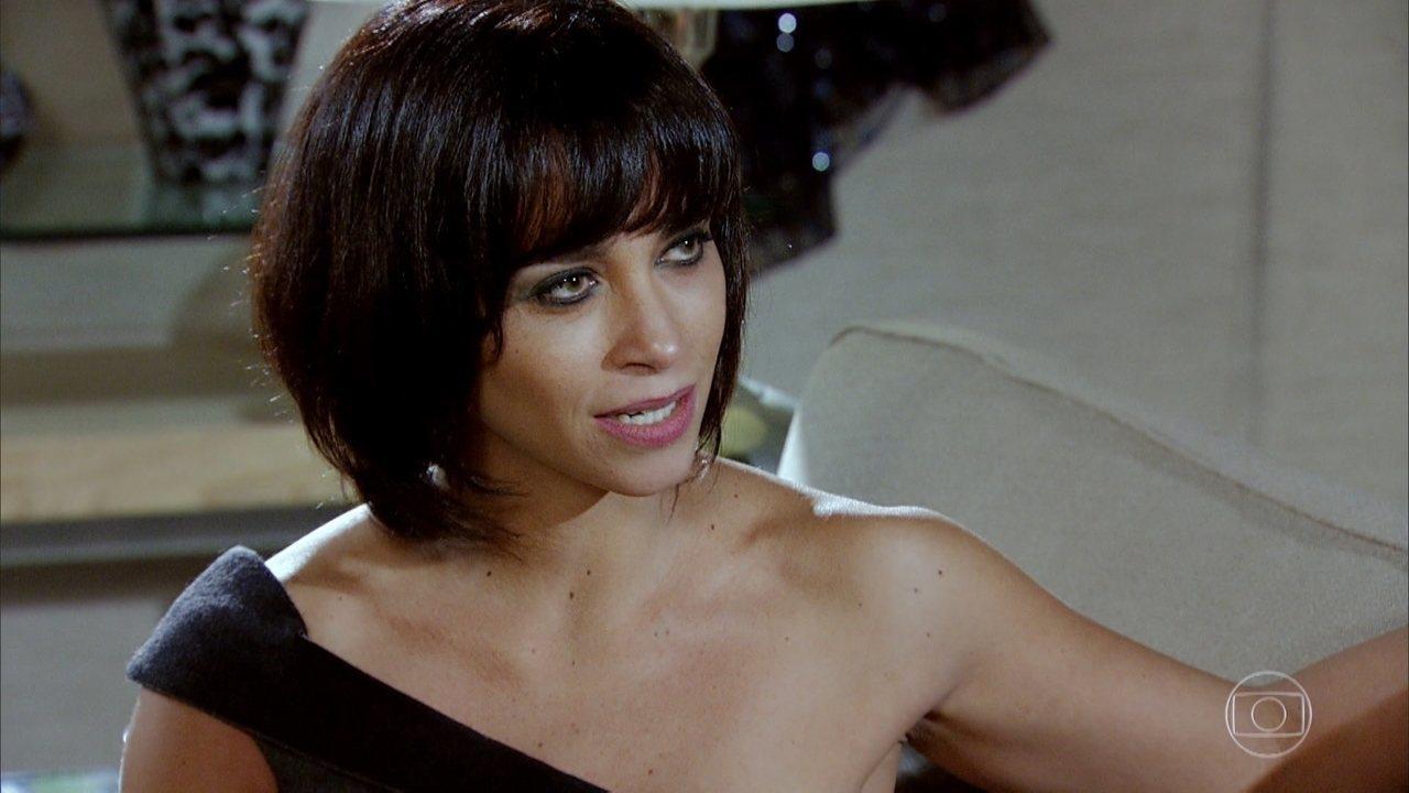 Marcela (Suzana Pires) em Fina Estampa (Foto: Reprodução/Globo)
