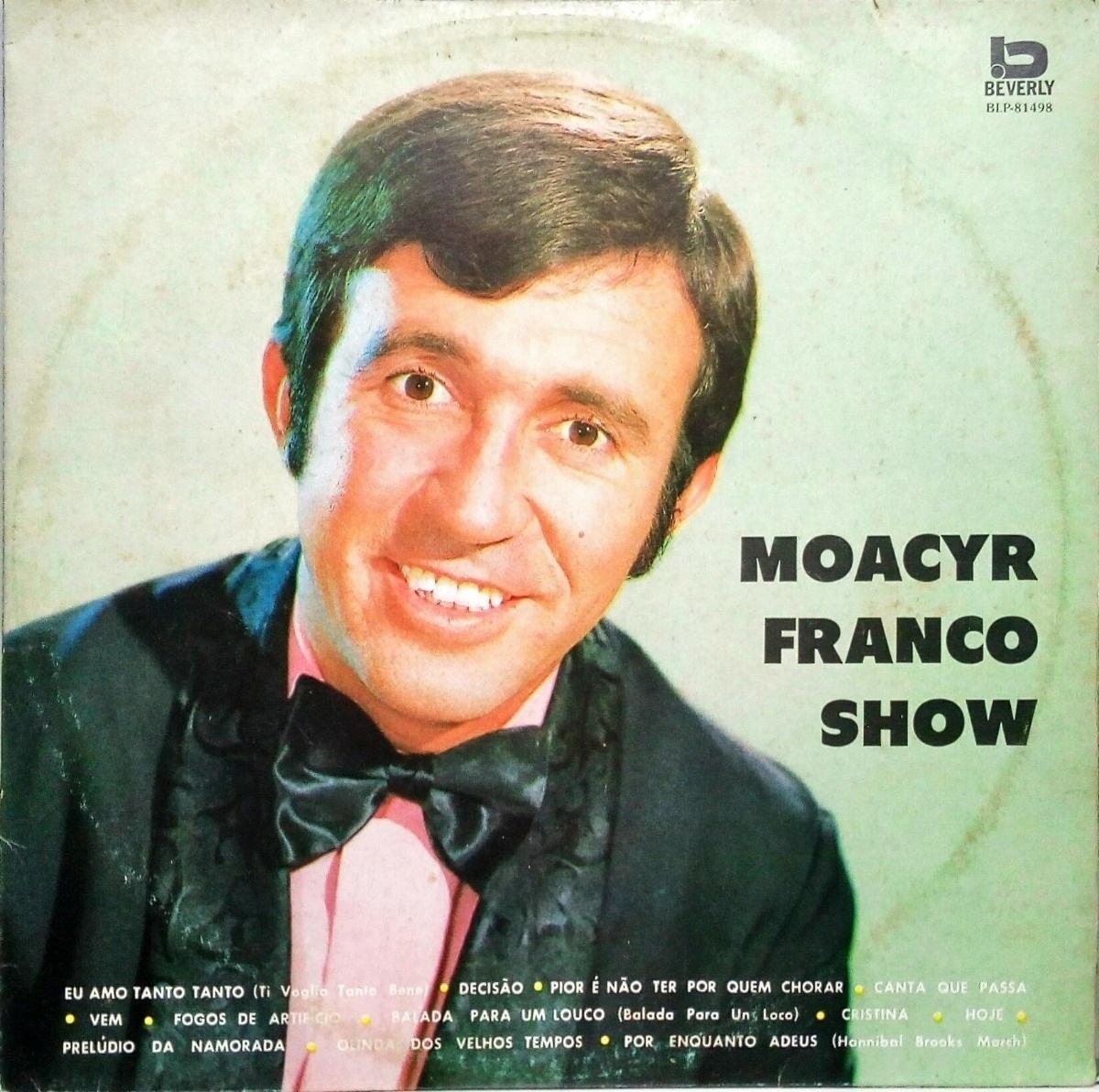Lp 'Moacyr Franco Show', de 1975 (Foto: reprodução)