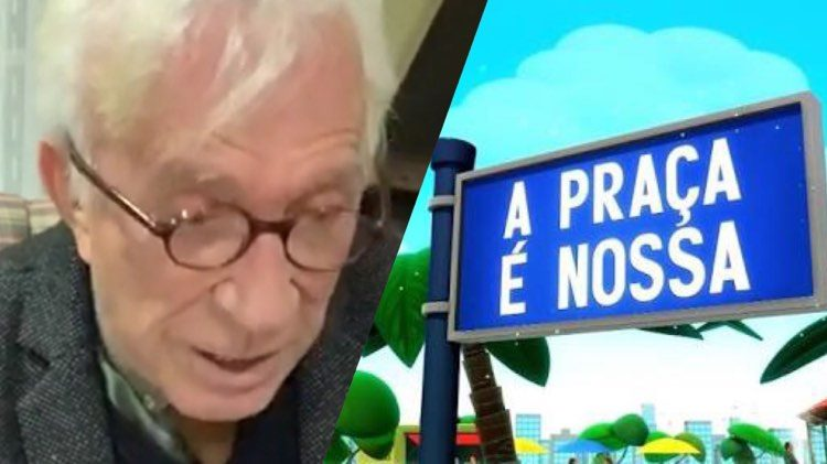 Moacyr Franco conta como foi a reação de Canarinho ao descobrir que tinha câncer (Montagem: TV Foco)