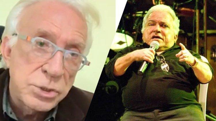Moacyr Franco faz revelação inusitada sobre o saudoso Nelson Ned durante live com Geraldo Luiz (Montagem: TV Foco)