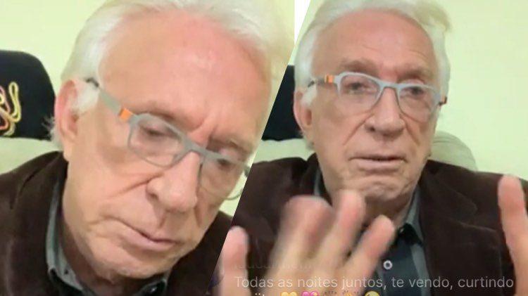 Moacyr Franco faz homenagem a amiga que faleceu e revela doença do carrapato (Montagem: TV Foco)