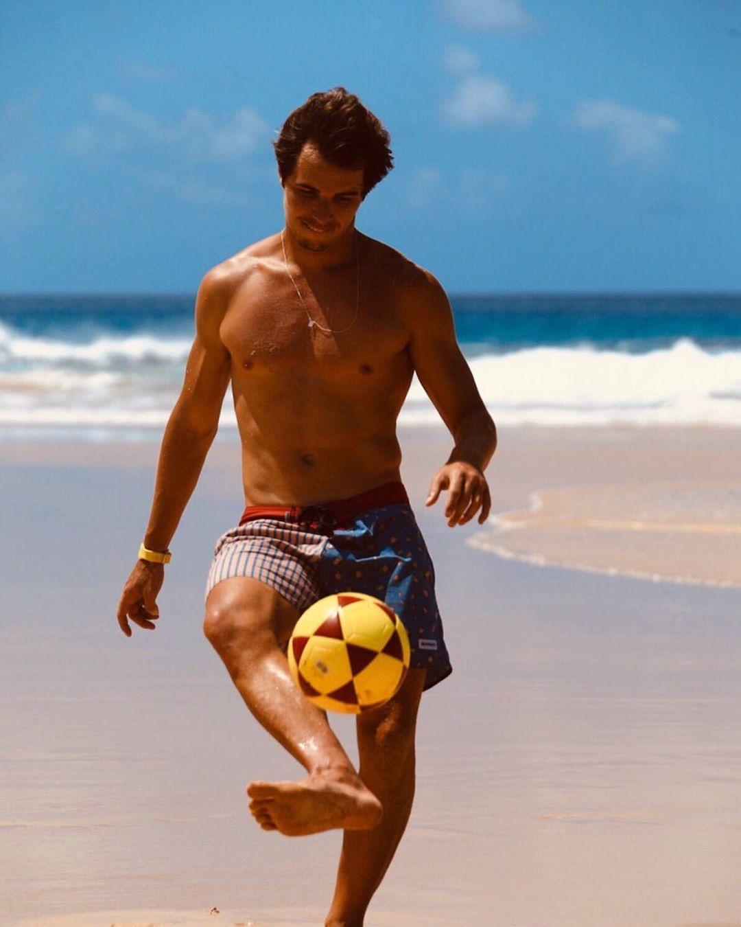 Igor Carvalho Rodrigues, namorado de Manu Gavassi, em seu Instagram (Foto: reprodução)