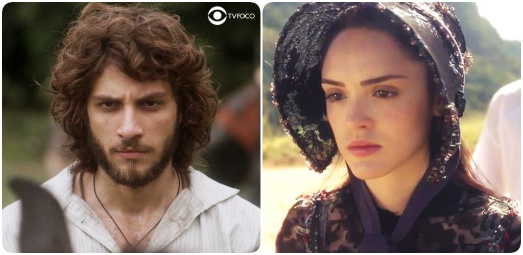 Anna tem encontro secreto com Joaquim na novela Novo Mundo