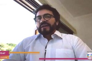 Padre Fábio de Melo participou do programa Encontro (Foto: Reprodução/TV Globo)