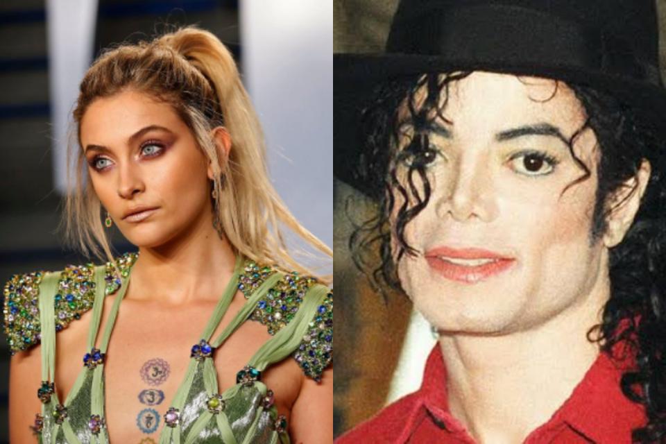 Paris Jackso, filha de Michael Jackson, esquece do pai e é detonada pela web (Foto: Reprodução)