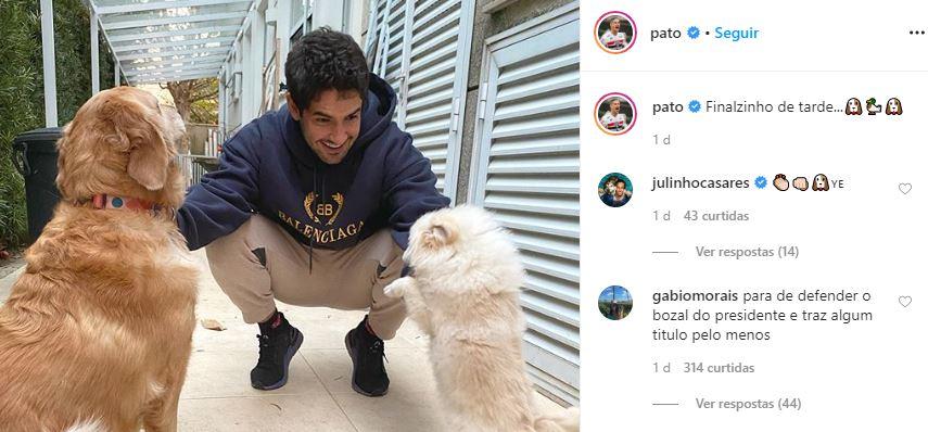 Pato foi detonado por internauta (Foto: Reprodução/Instagram)