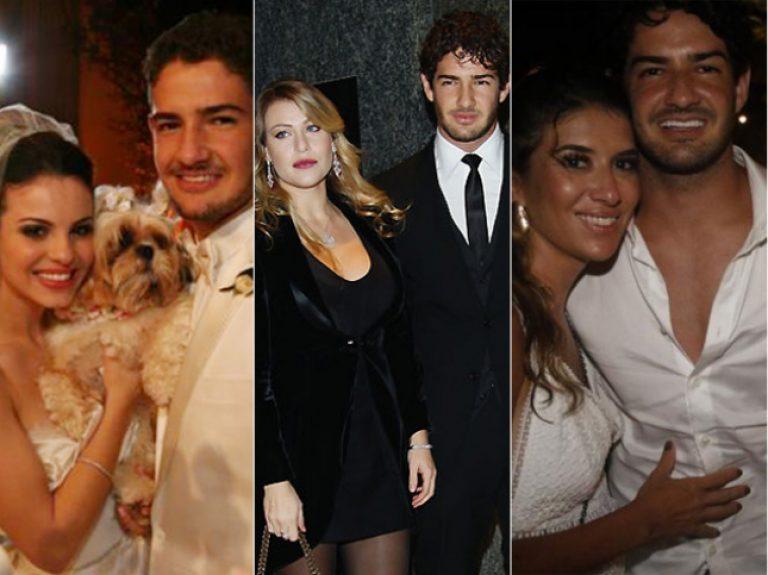 Pato já foi casado com Sthefany Brito, namorou Barbara Berlusconi e atualmente é casado com Rebeca Abravanel (Foto: Reprodução)